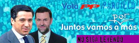 Auténtico cartel electoral del PP