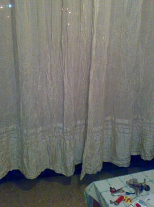 Las cortinas cortas acabarán poniéndose de moda