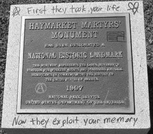 Monumento a los mártires de Haymarket, Chicago