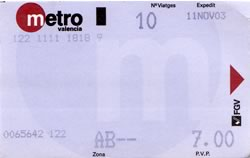 Bono-metro de los caros, maldita sea