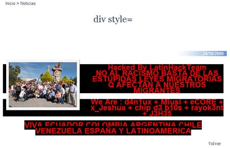 Segundo hackeo PP Valencia - 2