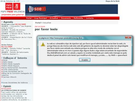 Hackeo PSOE Valencia - 1