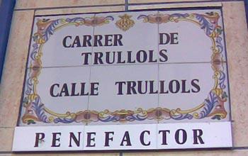 Calle Trullols, Castellón de la Plana