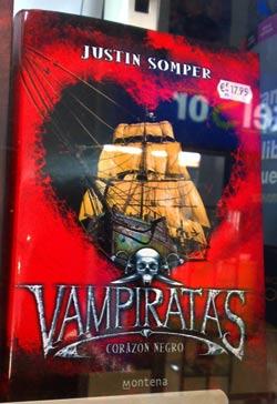 Vampiratas, de Justin Somper