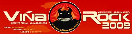 Logo Viña Rock 2009