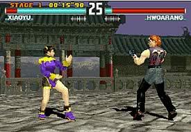¡Tekken 3!
